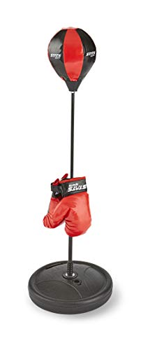 Stats Adjustable Boxing Bag With Gloves