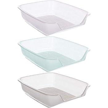 Bac à litière en plastique avec entrée. Il est facile de garder la niche propre. Hygiénique et facile à nettoyer. Contient bien la litière et évite le gaspillage. Ce modèle est livré par le fabricant sous forme d'un assortiment aléatoire de plusieurs...