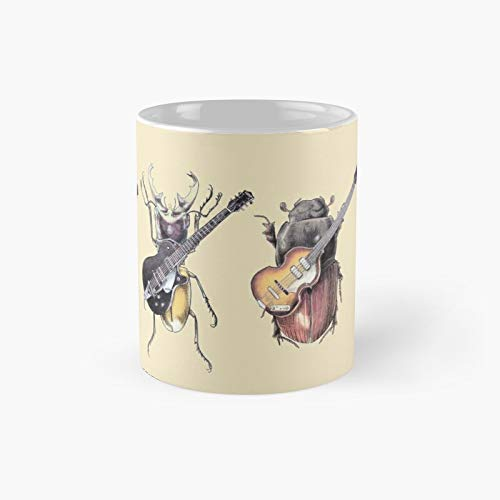 Meet The Beetles Classic Mug Best Gift Funny Coffee Mugs 11 Oz