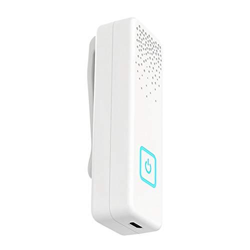 MAGFUN USB PortáTil Purificador de Aire Personal Usable Blanco para el Coche Casa Filtro de Aire con Generador de Iones Negativos