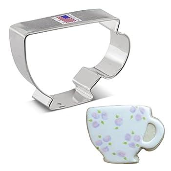 Ann Clark Cookie Cutters Teacup Cookie Cutter 3.5