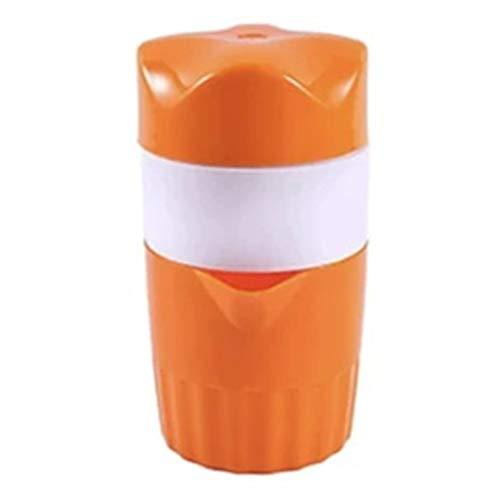 Multifunktionaler manueller Entsafter Ökologischer Kunststoff Ergonomisches Design Geruchloser Silent Juice Fruchtsaftpresse Home Use-Orange