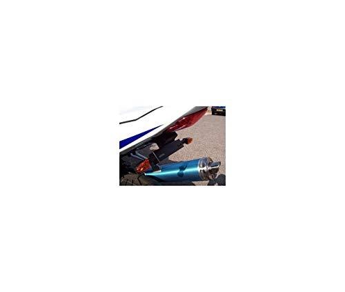 Compatible avec/Remplacement pour 600 GSXR / 750 GSXR - 04/05 - SUPPORT DE PLAQUE R&G Racing- LP0005BK