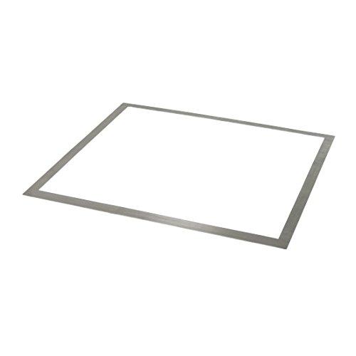 Xavax Adapterrahmen für Kochfelder (61 x 0,1 x 54cm, Edelstahl-Rahmen) Einbaurahmen