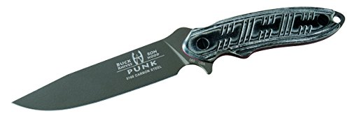 Buck Knives 65 Hood Punk Fixed Blade Survival Knife with Sheath
