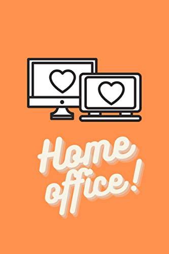 Home Office : Notebook for home office, remote | Carnet de notes pour télétravail | idée cadeau | nice gift | 140 lined page | 6x9 inches | Format 15,24 x 22,86