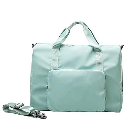 Ulapithi Borsa da viaggio pieghevole, borsa sportiva, borsa a tracolla per uomini e donne, borsa da viaggio durante la notte
