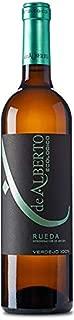 Vino Blanco 100% Verdejo DE ALBERTO Ecológico certificado. Envío GRATIS 24h. (1 unidad)