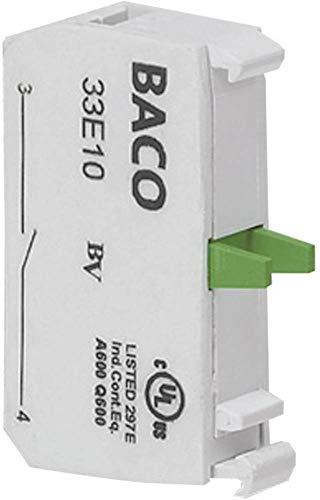 BACO 33E01 Kontaktelement 1 Öffner tastend 600 V 1 St.