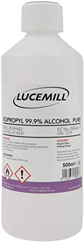 500ml (0,5L) ISOPROPYL ALCOHOL 99,9% PURE IPA ISOPROPANOL LIQUIDO