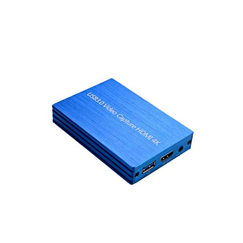 JSxhisxnuid USB 3.0 HDMI HD Video Capture 4K 1080p 60FPS video-opnamekaart gamerecorder Box HD Video Recorder apparaat Live Streaming voor Windows Linux Os X systemen