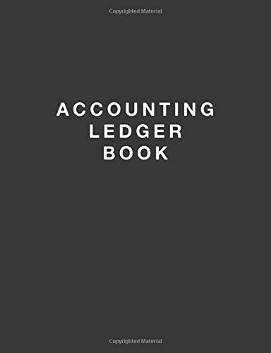 Accounting Ledger Book: Simple Accounting Ledger for Bookkeeping