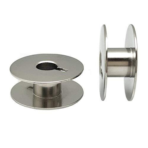 eRadius 10 X metalen Bobbins naaimachine spoel past op de meeste merken – UNIVERSAL – Binnenlandse Bobbin zonder gat