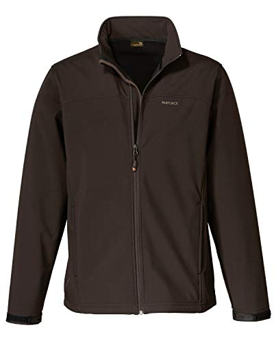 PARFORCE Softshell Jacke Braun S