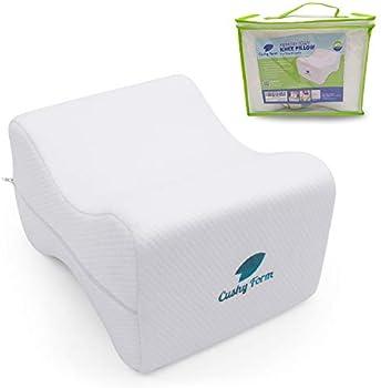 Cushy Form Memory Foam Orthopedic Leg Pillow Wedge