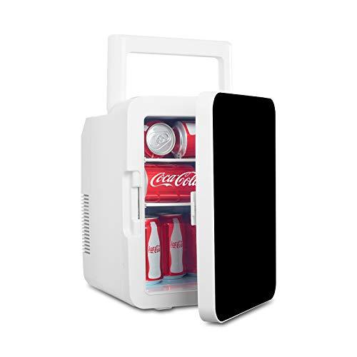 eklipt 10L Mini Fridge Compact Mini Refrigerator Cooler and Warmer Single Door Mini Freezer for Cars Homes Offices Dorms,black