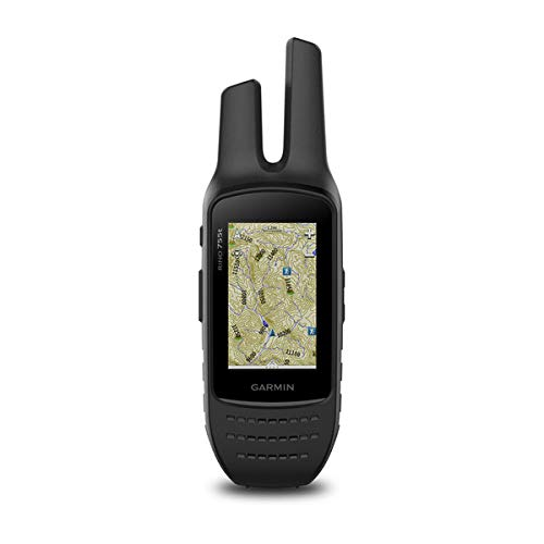 Garmin Rino 755t, Rugged Handheld 2-Way Radio/GPS Navigator with Camera and Preloaded TOPO Mapping