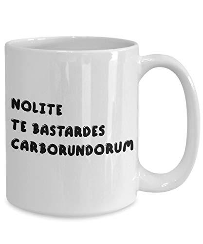 Promini Dekorative Tasse Nolite Te Bastardes Carborundorum Feministische Girl Power Roman Tv Serie Kaffeetasse Geschenk 15oz WeißE Tasse