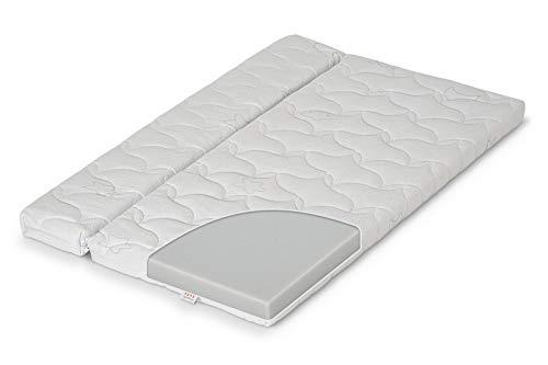 FabiMax teilbare Matratze COMFORT für Beistellbett, 90x55/90x40 cm