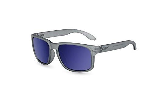 Preisvergleich Produktbild Pegaso Rocky,  Sonnenbrille Unisex,  Grau / Spiegel Blau Revo