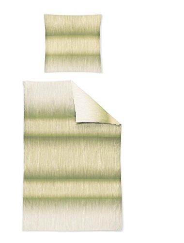 Irisette Mako Satin Capri Bettwäsche 2 teilig Bettbezug 155 x 200 cm Kopfkissenbezug 80 x 80 cm Capri 751867-30 Bamboo