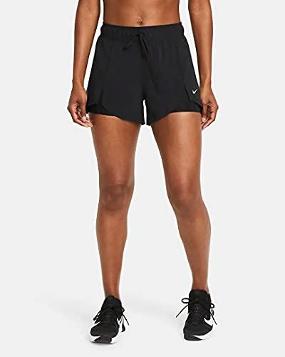 Nike Dry Fit FLX Essential 2-in-1 Shorts Black/Black/White M