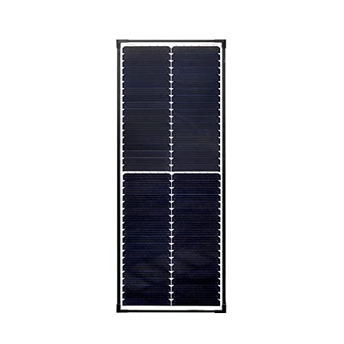 enjoysolar® Monokristallin Solarmodul Mono Solarpanel mit neuartiger Schindeltechnologie (80W)