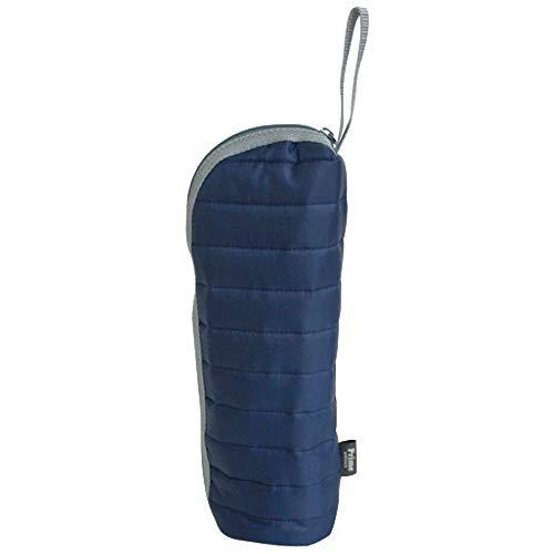 プライムナカムラ ECORIP エコリップクーラーボトルホルダー (NV) 日本製 軽量 保冷 保温 ボトル 持ち運び ジョギング 保冷バッグ アップサイクル 撥水 トレーニング 散歩 (約H27×φ7.5cm)