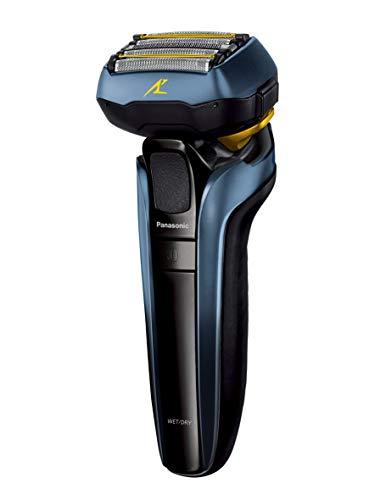 パナソニック ラムダッシュ リニア メンズシェーバー 5枚刃 お風呂剃り可 青 ES-LV5T-A