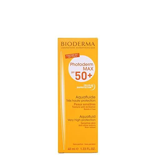 BIODERMA Photoderm Max Aquafluido Spf 50 plus Sonnencreme, 1er Pack 40ml