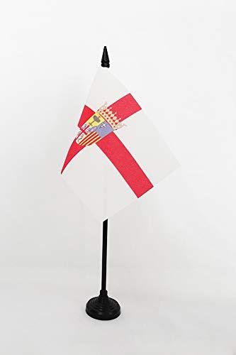 Az Flag Mesa Bandera Provincia de Zaragoza, 15 x 10 cm