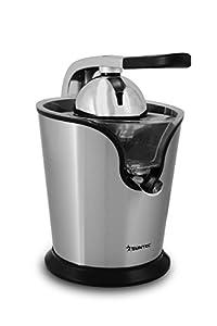 SUNTEC Exprimidor ZIP-8441 pro [Ideal para preparar zumos frescos con todos sus nutrientes, 2 conos, canalón directo a la jarra, jarra extraíble (360 ml), incl. filtro para pulpa, máx. 160 W]