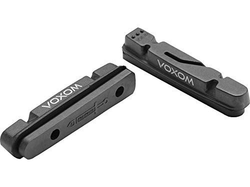 Voxom Ersatzbeläge Road Brb2 2 Stück, schwarz, Carbon-Felgen, Shimano, 718000121 Bremsen/bremsbeläge, One Size