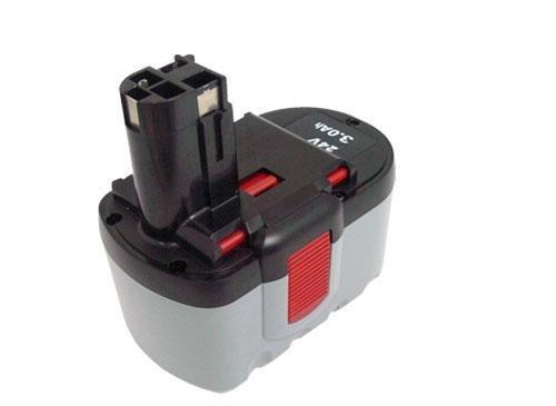 PowerSmart 24V Ni-MH 3000mAh Batteria per Bosch GSA 24 VEF, GSB 24 VE-2, GSB 24 VE-2/N, GSR 24 VE-2, GSR 24 VE-2/N, GST 24 V, GST 24 VH, PSB 24VE-2, SAW 24V, BAT031, BAT240