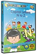 #1 Preschool Learning DVD Series: Snapatoonies - Episode 8: Capital Letters N to Z :: Bridging the Word Gap - Early Language Development System - Rich Vocabulary and Positive Reinforcement for Baby, Toddler and Children Under 5 - Award Winning Educational DVD - 23 Minute Lightly Animated with Mixed Media Covers Letters, Reading, Vocabulary and Comprehension. Great Resources for 1, 2, and 3 Year Old Kids.