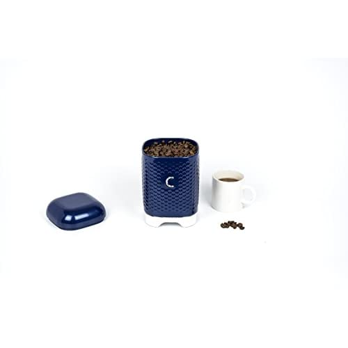 KitchenCraft Lovello Coffee Canister - Midnight Navy