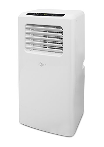 Suntec Wellness 14260 SUNTEC mobiles lokales Klimagerät Impuls 2.0 Eco [Räume bis 60 m³ (~25 m²), Kühlen + Entfeuchten mit ökologischem Kühlmittel R290, 7.000 BTU/h, Energieeffizienzklasse A], 240 V