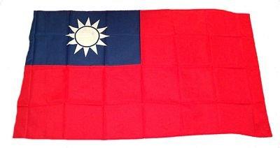 Fahne / Stockflagge Taiwan NEU 30 x 45 cm Flaggen