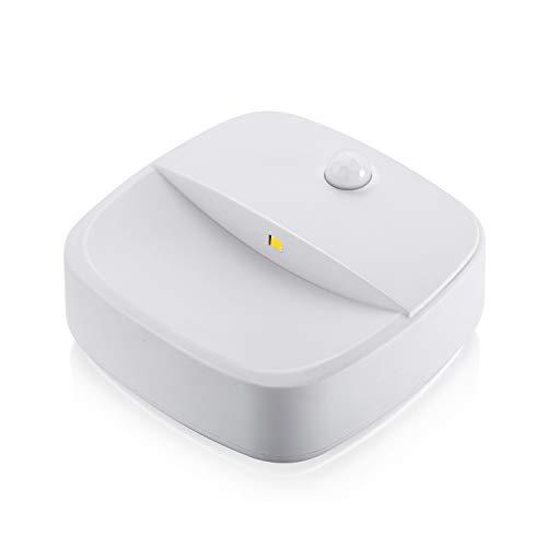3-pak, led-nachtlampje lichaamssensorlicht, draadloze infraroodsensor, 3 AAA-batterijen (niet inbegrepen), geschikt voor slaapkamer, hal, toiletten, bedden enz.