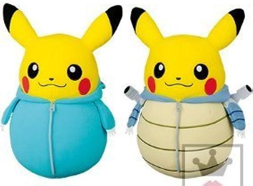 Pikachu sleeping bag collection huge stuffed toy - Venusaur, Blastoise -