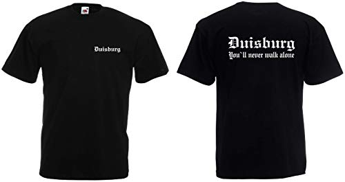 Duisburg Herren T-Shirt Fan Ultras