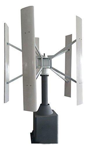Preisvergleich Produktbild Tumo-Int 2000W Vertikal Levitation Windkraftanlage mit MPPT Kontroller (48V)