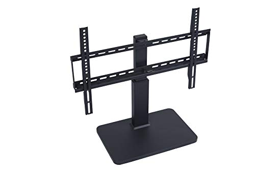 Amazon Basics Swivel Pedestal TV Mount for 32-65 inch TVs up to 55 lbs, Height Adjustable 16-21 Inches, max VISA 600x400
