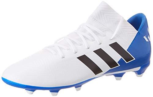 adidas Unisex-Kinder Nemeziz Messi 18.3 FG Fußballschuhe, Weiß (Ftwbla/Negbás/Fooblu 001), 36 2/3 EU