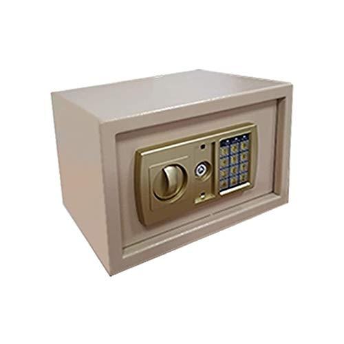 HIZLJJ Caja de Seguridad de Seguridad de gabinete, Caja Fuerte de Seguridad, Caja Fuerte de Seguridad, construcción de Acero Segura Digital electrónica, para Pasaporte, joyería y Efectivo