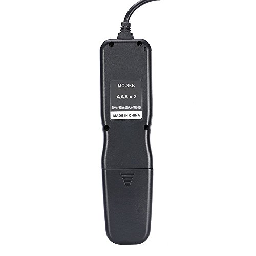Neewer Shutter Release Timer Remote Control Cord Compatible with Canon EOS 550D/Rebel T2i, 450D/Xsi, 400D/Xti, 350D/XT, 300D 60D 600D 500D 1100D 1000D 10D 20D 30D 40D 50D