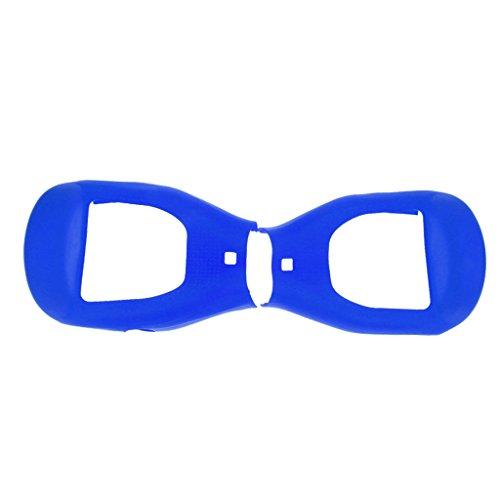Gazechimp Coque de Protection Hoverboard en Silicone Scooter Voiture Auto de 6.5 Pouces - Bleu Foncé, 6.5pouces