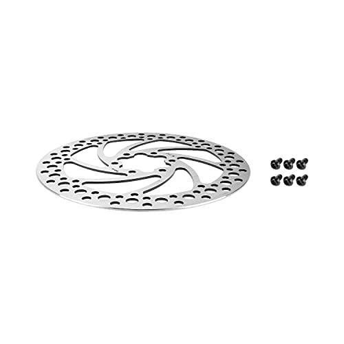 Fututech - Disco de freno de acero inoxidable para patinetes eléctricos, bicicletas, bicicletas, bicicletas eléctricas, BMX, pastillas de freno, accesorios de freno, (140)