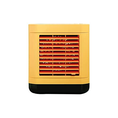 Aire acondicionado portátil con ventilador de refrigeración, humidificador de escritorio multifunción, integrado en 2000 mAh, aire acondicionado, limpiador de escritorio para la cama doméstica