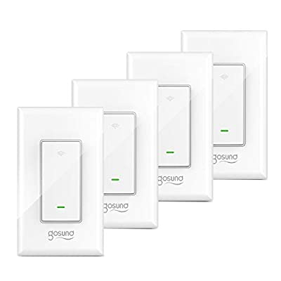 Gosund Smart Light Switch, In-wall Wifi Smart S...